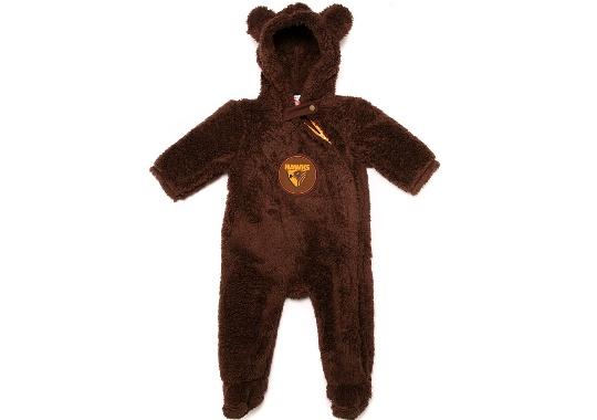 5dc892d18b5f Hawthorn Hawks Infants Fur Onesie – Footy Focus