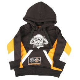 wests tigers infants poly hoodie