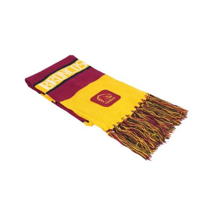 brisbane broncos nrl traditional bar scarf footy focus
