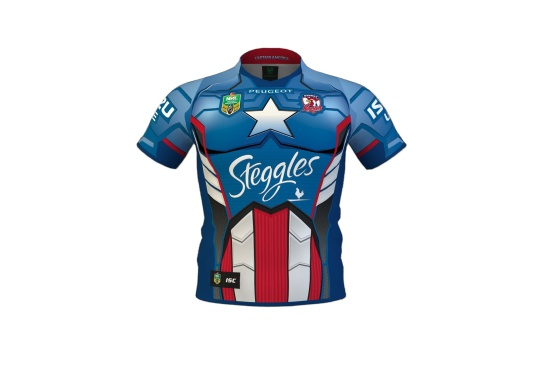 Captain America Roosters Jersey Captain-america-jersey