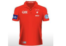 2016 swans red polo