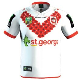 dragons 2016 anzac jersey