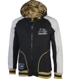 panthers full zip hoodie