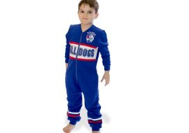 youth onesie west bulldogs