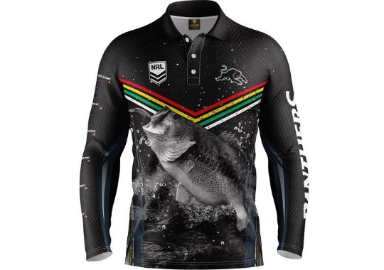 competitive price 2e980 8a8d2 Penrith Panthers Mens 2019 Fishing Shirt
